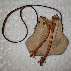 Authentic dooney and bourke drawstring purse